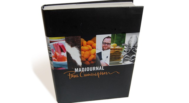 Madjournal layout Julie Asmussen forside