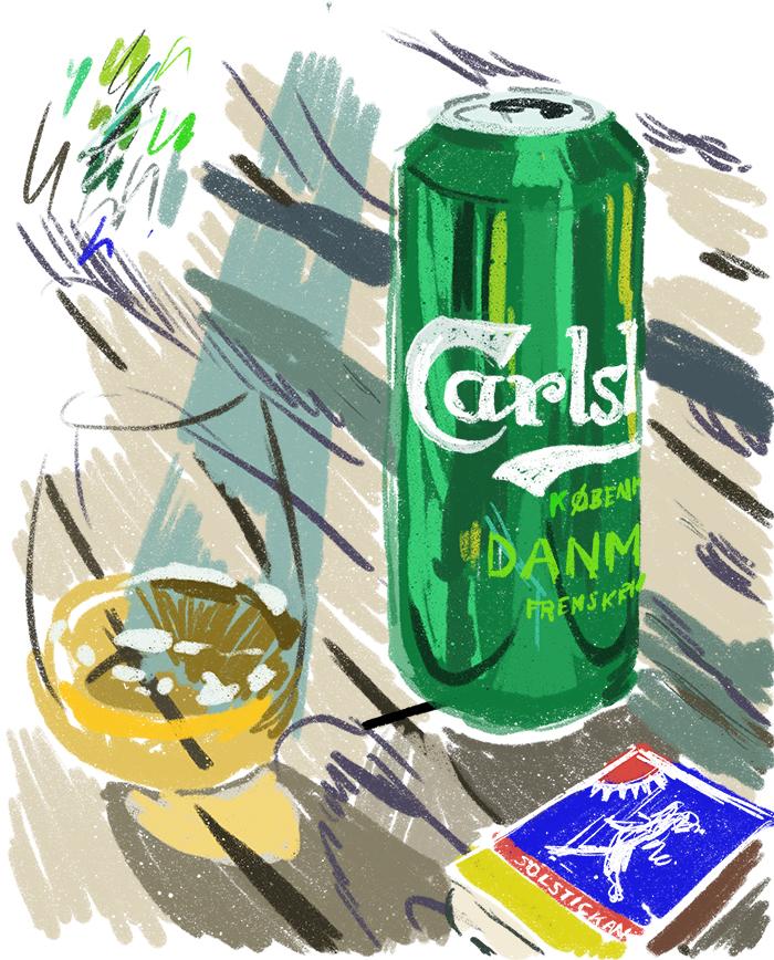 Øl fra Carlsberg