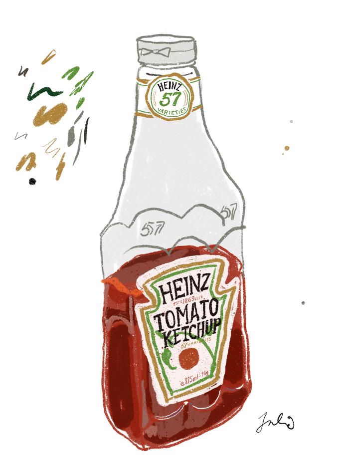 Ketchupflaske
